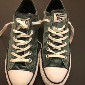 """Converse Velvet All Star sneakers Us 8.5"""", 39.5"""" E"""